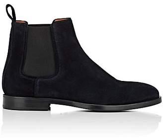 Lanvin Men's Suede Chelsea Boots - Navy
