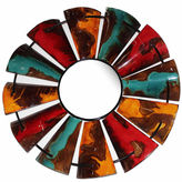 Asstd National Brand Windmill Mirror