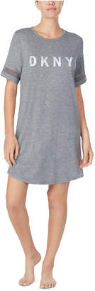 DKNY Women Logo Sleepshirt Nightgown