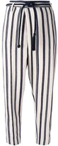 Forte Forte striped cropped trousers