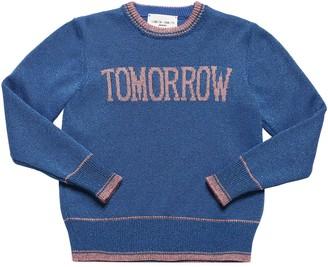 Alberta Ferretti Tomorrow Viscose Lurex Sweater