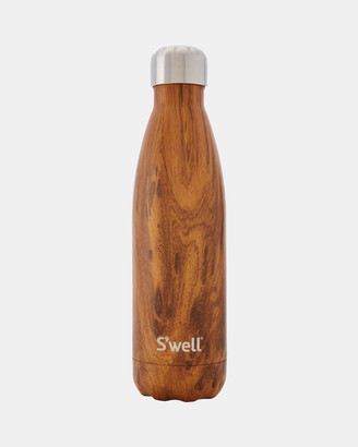 Swell Water Bottles - Insulated Bottle Wood Collection 500ml Teakwood - Size One Size at The Iconic
