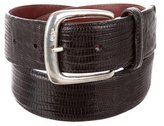 Ralph Lauren Lizard Buckle Belt