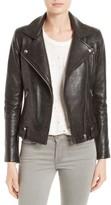 IRO Women's Vamy Studded Leather Moto Jacket