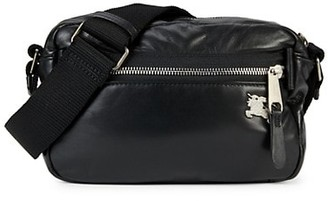 Burberry Paddy Leather Shoulder Bag