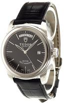 Tudor 'Glamour Date-Day' analog watch
