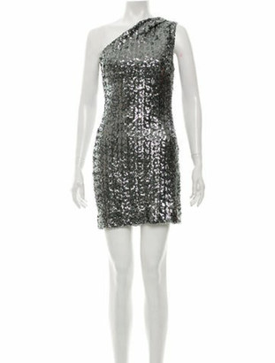 HANEY Sequin Mini Dress Blue