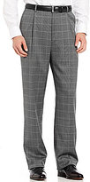 Hart Schaffner Marx Chicago Classic-Fit Pleated Box Plaid Dress Pants