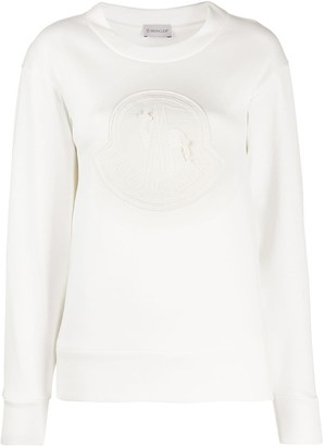 Moncler Intarsia Crew Neck Sweatshirt