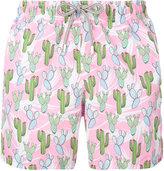 MC2 Saint Barth 'Gustavia' printed swim shorts - men - Polyamide/Polyester/Spandex/Elastane - M