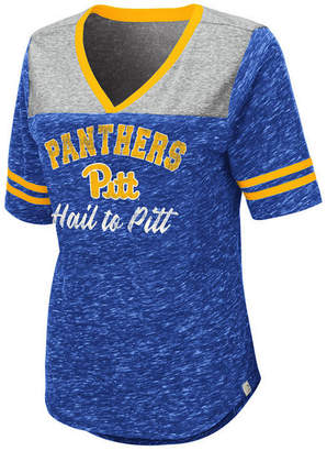 Colosseum Women Pittsburgh Panthers Mr Big V-neck T-Shirt