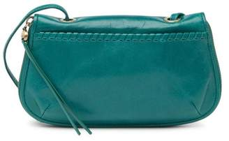 Hobo Quill Leather Whipstitched Crossbody