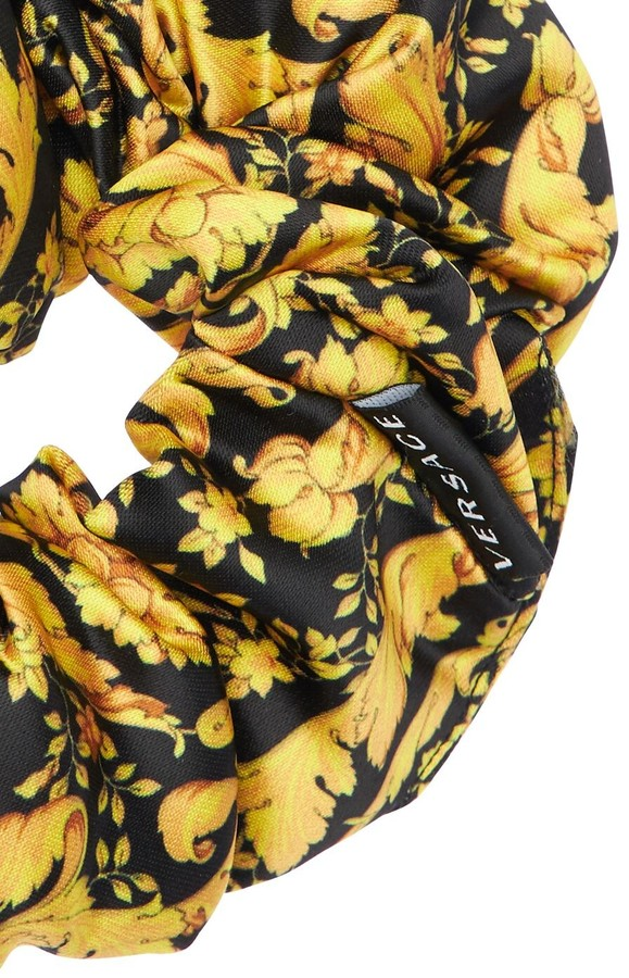 Thumbnail for your product : Versace Barocco Print Scrunchie