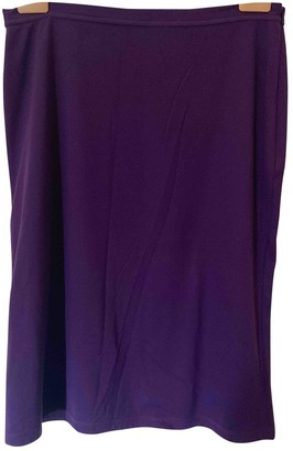 Miu Miu Purple Skirt for Women Vintage
