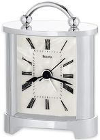 Bulova Regent Table Clock in Chrome