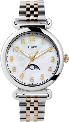 Timex Model 23 Moon Phase Bracelet Watch, 38mm
