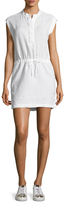 James Perse Drawstring Waist Dress
