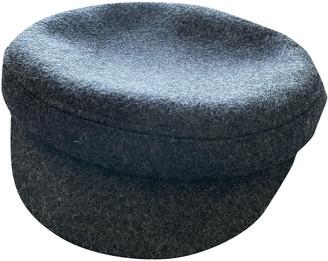 Isabel Marant Grey Wool Hats