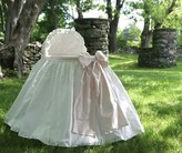 The Well Appointed House Lulla Smith Angel Baby Bassinet with Pink Bow