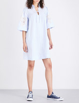 MiH Jeans Langley cotton and linen shirt dress