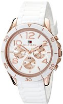 Tommy Hilfiger Women's 1781524 Sophisticated Sport Analog Display Quartz White Watch