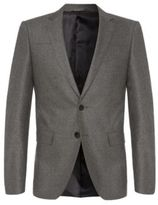 Hugo Boss Randal Extra Slim Fit, Wool Cashmere Sport Coat 38R Grey