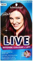 Schwarzkopf LIVE Intense Colour + Lift L76 Ultra Violet Hair Dye