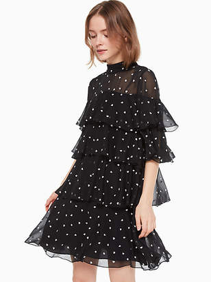 Kate Spade Heartbeat Embroidered Dress