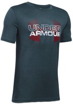 Under Armour Boys' Big Logo Hybrid Tee - Sizes S-XL