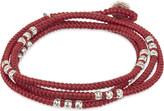 M. Cohen Knotted bead wrap bracelet
