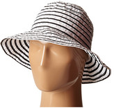Lauren Ralph Lauren Poly Striped Signature Grosgrain Bucket Hat