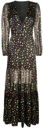 Cynthia Rowley Caroline tiered maxi dress