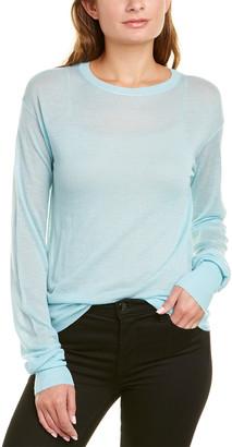 Helmut Lang Crewneck Cashmere-Blend Sweater