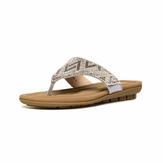 Lotus Women Patti Flip Flops