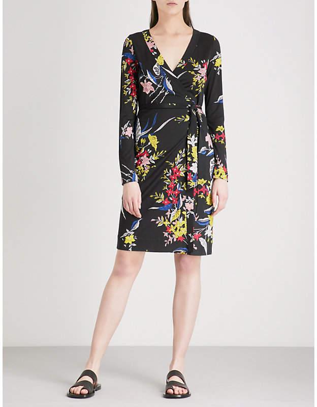 Diane von Furstenberg Julian floral-print wrap dress