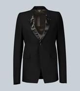 Rick Owens Slim-fit tuxedo jacket