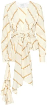 Johanna Ortiz Party Wave striped cotton top