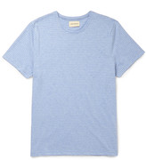 Oliver Spencer - Harper Slim-fit Striped Cotton-jersey T-shirt