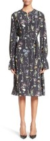 Altuzarra Women's Leighton Floral Print Silk Dress