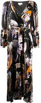 Temperley London Cosmos-print wrap dress