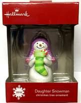 Hallmark 2016 Daughter Snowman Ornament, New in Box!