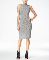 Fire Juniors' Mock-Neck Bodycon Dress