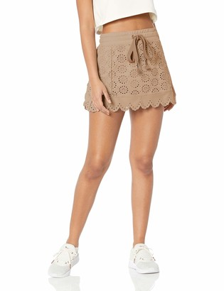 Puma Women's Fenty Embroidered Edge Mini Skirt