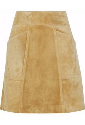 Derek Lam Suede Mini Skirt