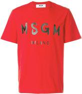MSGM short sleeved T-shirt - men - Cotton - S