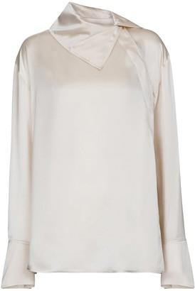 Roksanda Sierra silk satin blouse