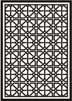 Eichholtz Webb Rug Black/Off White 200x300cm