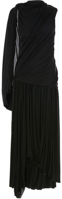 J.W.Anderson Grecian one-sleeve draped dress