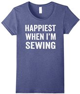 Happiest When I'm Sewing Shirt