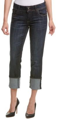 KUT from the Kloth Women's Cameron Straight Leg Wide Cuff Jean in Serendipity